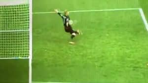 WATCH: Kasper Schmeichel Produces A Save His Dad Would Have Been Proud Of