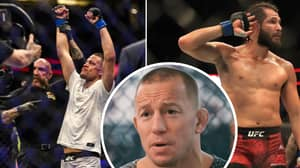 Georges St-Pierre Reacts To Nate Diaz Fighting Jorge Masvidal At UFC 244