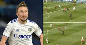 Luke Ayling's Hilarious Response To Awful Pass In Leeds Vs Manchester United