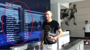 Spurs Film Hugo Lloris Returning To The Club, People Immediately Notice Their Honours Board