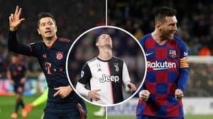 Cristiano Ronaldo Fails To Make List Of 2019's Top Goalscorers