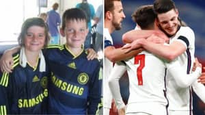Long-Time Best Mates Declan Rice And Mason Mount Realise Every Child's Dream In Scoring For England