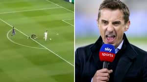 Fan Creates Thread Of All Of Gary Neville's 'Ooos' In Commentary