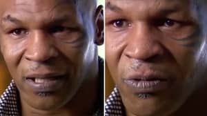 Mike Tyson Got So Emotional In Interview He Asked Interviewer To Leave