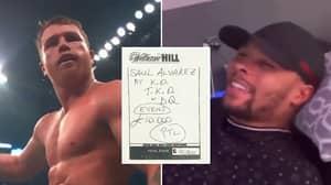 Chris Eubank Jr's £10,000 Bet Comes In After Canelo Alvarez Stops Billy Joe Saunders