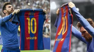 Barcelona Should Retire The Number 10 Shirt When Lionel Messi Retires