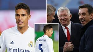 Manchester United Legend Convinced Raphael Varane To Join The Club