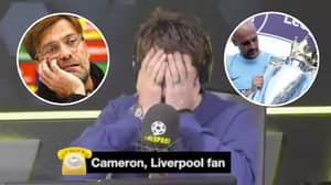 Liverpool Fan Wants Reds To Receive A Trophy For Finishing Second In The Premier League