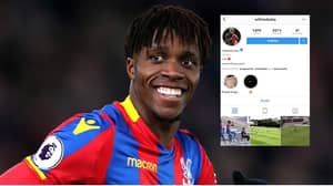 Wilfried Zaha Posts Cryptic Instagram Message Amid Speculation Over His Crystal Palace Future