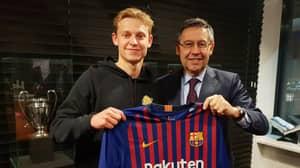 Barcelona Sign Ajax Midfielder Frenkie de Jong For £65 Million
