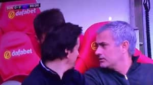 WATCH: Mourinho Asks Michael Carrick Why Man Utd Fans Sing About Diego Forlan
