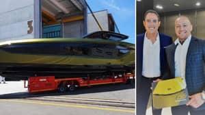 Conor McGregor Says Luxury £2.7 Million 'Supercar Of The Sea' Lamborghini Yacht Is Complete