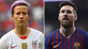 Megan Rapinoe Claims She Does NOT Want To 'Earn Lionel Messi Salary' Amid Equal Pay Battle