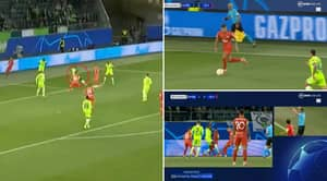 Fans Left Absolutely Baffled By One Of The Worst Penalty Decisions In Champions League History