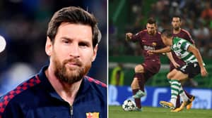 """Sporting CP Player Recalls Being """"Ashamed"""" After Being Asked To Man-Mark Lionel Messi"""