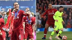 Virgil Van Dijk Has Overtaken Lionel Messi As Favourite For The Ballon d'Or