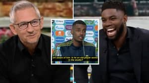 Micah Richards Completely Mugged Off Gary Lineker After Alexander Isak Didn't Have A Clue Who He Was