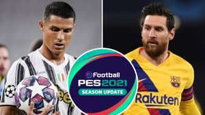 Cristiano Ronaldo And Lionel Messi's Overall Ratings Finally Revealed In PES 2021