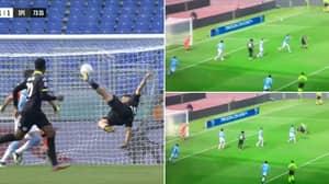 Daniele Verde Scores The Most Perfect Bicycle Kick Goal Against Lazio