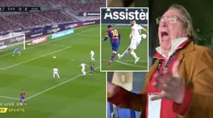 Ray Hudson's Reaction To Lionel Messi's Stunning Barcelona Goal Vs Huesca Is Incredible