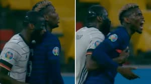 Antonio Rudiger Accused Of Biting Paul Pogba During European Championship Clash Between France And Germany