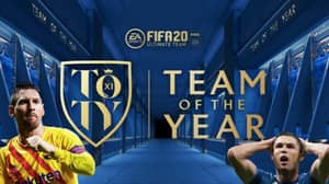 FIFA 20 Ultimate Team 'Team Of The Year' Leaked Online
