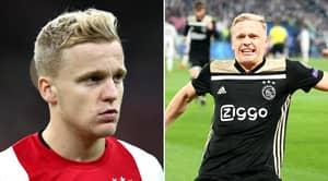 Donny Van De Beek Reveals He is Joining Manchester United To Ajax Teammates