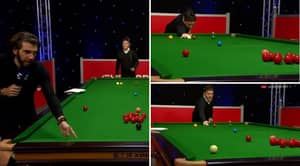 Bizarre Snooker Dump Shot 'Secret' Is Blowing The Minds Of Players And Fans