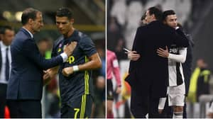 Cristiano Ronaldo Posts Classy Message To Departing Juventus Manager Max Allegri
