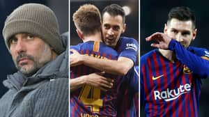 What Messi Told Pep Guardiola After Seeing Sergio Busquets In Training