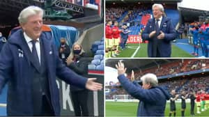 Roy Hodgson Walks Out At Selhurst Park As Crystal Palace Manager For The Final Time
