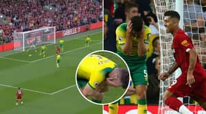 Liverpool Fans Are Loving Grant Hanley's 'No-Look Finish' In Premier League Opener
