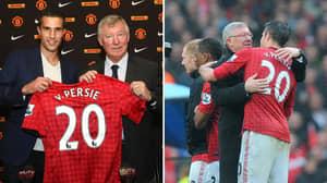The Player Sir Alex Ferguson Wanted Before Signing Robin Van Persie