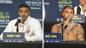 Tommy Fury Annihilated Jake Paul With One Sentence During Their Press Conference