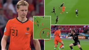 Frenkie De Jong Compilation vs Austria Shows How 'The De Jong Turn' Is One Of The Most Efficient Moves In Football