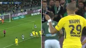 What Kylian Mbappe Did Before Saint-Etienne Penalty Is Genius