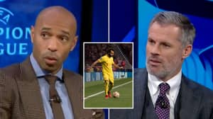 Thierry Henry Argues Against Carragher That Salah Is World's Best, Names Two Players Better Than Him
