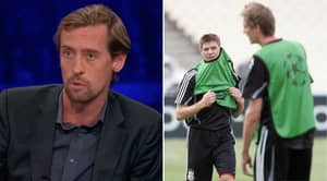 Peter Crouch Admits Wanting To Impress Steven Gerrard More Than Manager At Liverpool