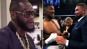 Deontay Wilder Calls Tony Bellew A 'B*tch', Willing To Fight Him At Catchweight