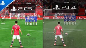 PS5 Gamers Concerned By FIFA 22's 'Ridiculously Bad Pitch Texture'
