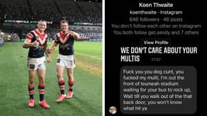 NRL Star Josh Morris Calls Out Vile Social Media Abuse