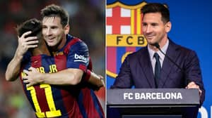 Neymar Has Just Announced The Lionel Messi Transfer To Paris Saint-Germain