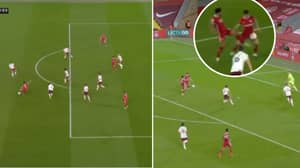 Mo Salah's Game Summed Up In Two Moments, Three Minutes Apart