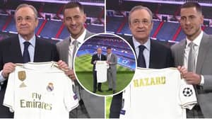 Real Madrid Officially Unveil Eden Hazard As Belgian Gets His Dream Move