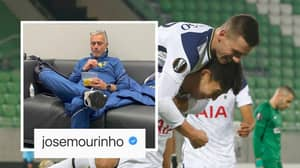 Jose Mourinho Mocks His Own Team's Performance Against Ludogorets With Brilliant Instagram Post