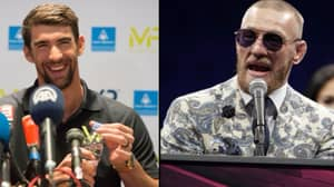 Michael Phelps Challenges Conor McGregor To Swimming Race