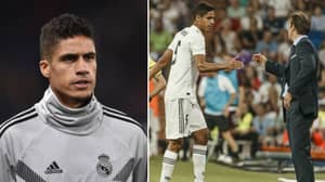 What Raphael Varane Did After Lopetegui Was Sacked From Real Madrid Is Class
