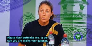 Johanna Konta Loses Cool With Reporter For 'Patronising' And 'Picking On Her' After Shock Defeat
