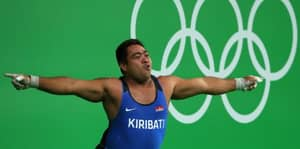 WATCH: Kiribati Weightlifter Shows Off Dance Move To Highlight Islands' Problems