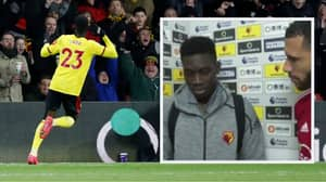 "Watford's Ismaila Sarr Was ""Really, Really Disappointed"" After Liverpool Win"